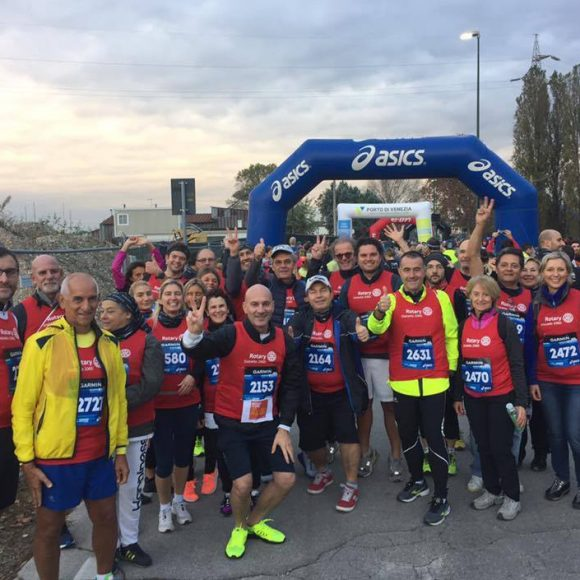 «Run for polio»: una corsa contro il tempo.